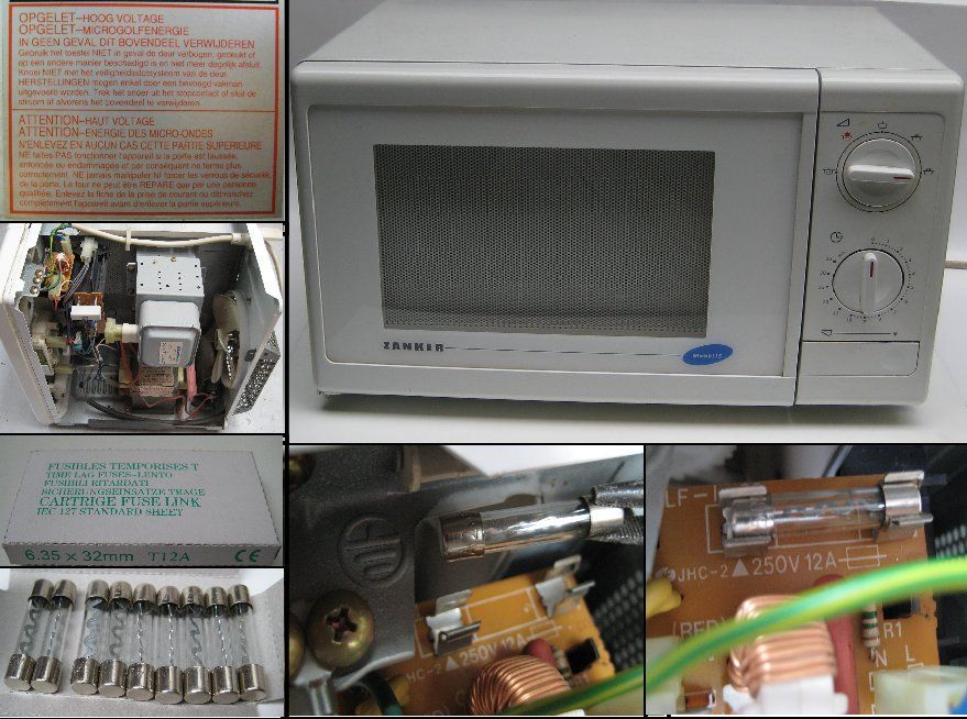 zanker mwb 6115 microwave oven origin our own problem after