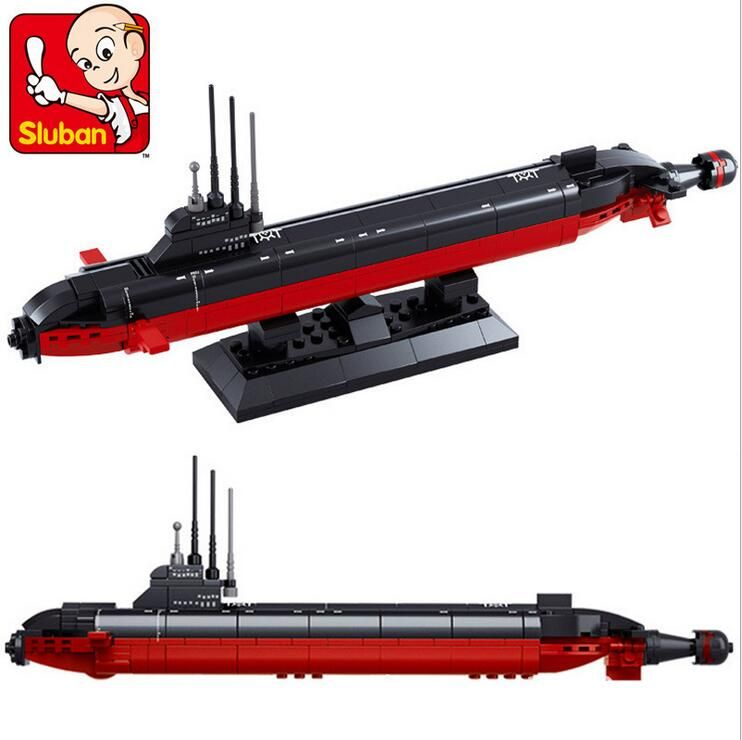 $9.86 (Buy here: https://alitems.com/g/1e8d114494ebda23ff8b16525dc3e8/?i=5&ulp=https%3A%2F%2Fwww.aliexpress.com%2Fitem%2FSluban-B0391-NUCLEAR-SUBMARINE-Army-NAVY-Warship-DIY-Model-Building-Blocks-Bricks-Toys-Gift-193PCS-P006%2F32663375143.html ) Sluban B0391 NUCLEAR SUBMARINE Army NAVY Warship DIY Model Building Blocks Bricks Toys Gift 193PCS P006 for just $9.86