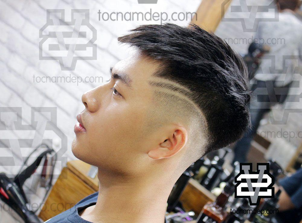 Kiểu tóc Mohican ngắn dạng Undercut xuất hiện rộng rãi tại Việt Nam, đặc  biệt