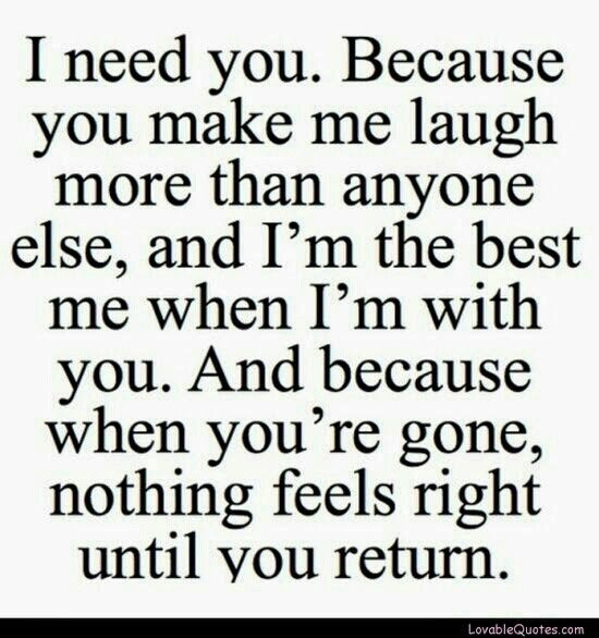 Baby this is how I feel about u and it's not stopped since I met u and it's been the best 2 months of my life u r my sunshine I love u and miss u already can't wait to get home so I can see ur beautiful smile