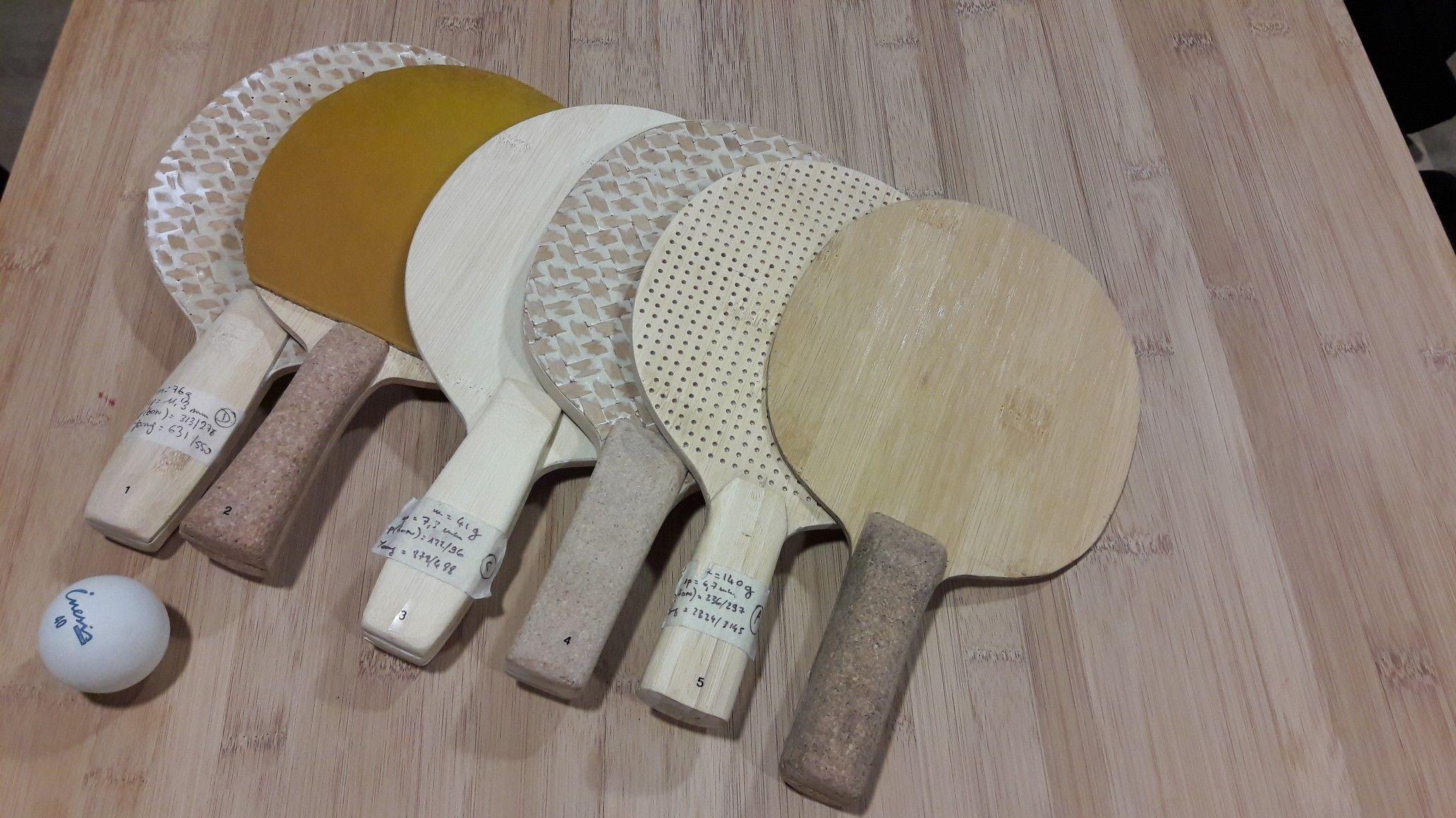 VESO- raquettes de ping-pong-green composites | GREEN COMPOSITES ...