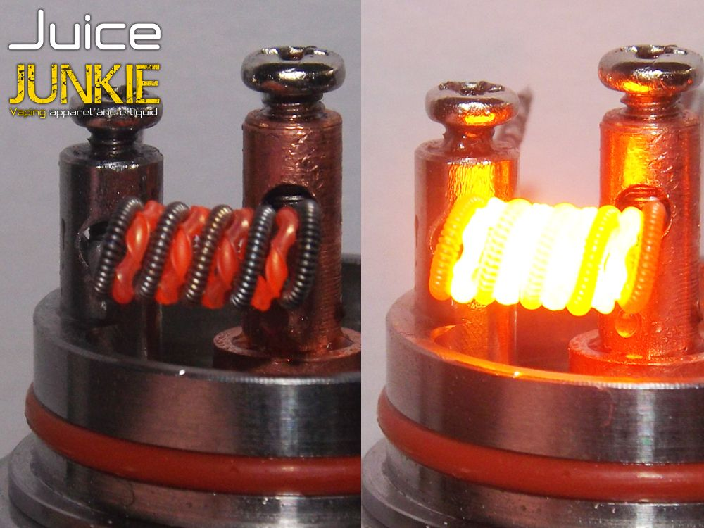 glow shot of clapton/tiger wire parallel coil | General | Pinterest