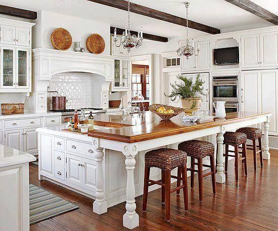 Unique French Country Kitchen Stools