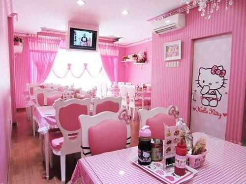 Hello Kitty Food At Kitty S Corner Cafe Jakarta