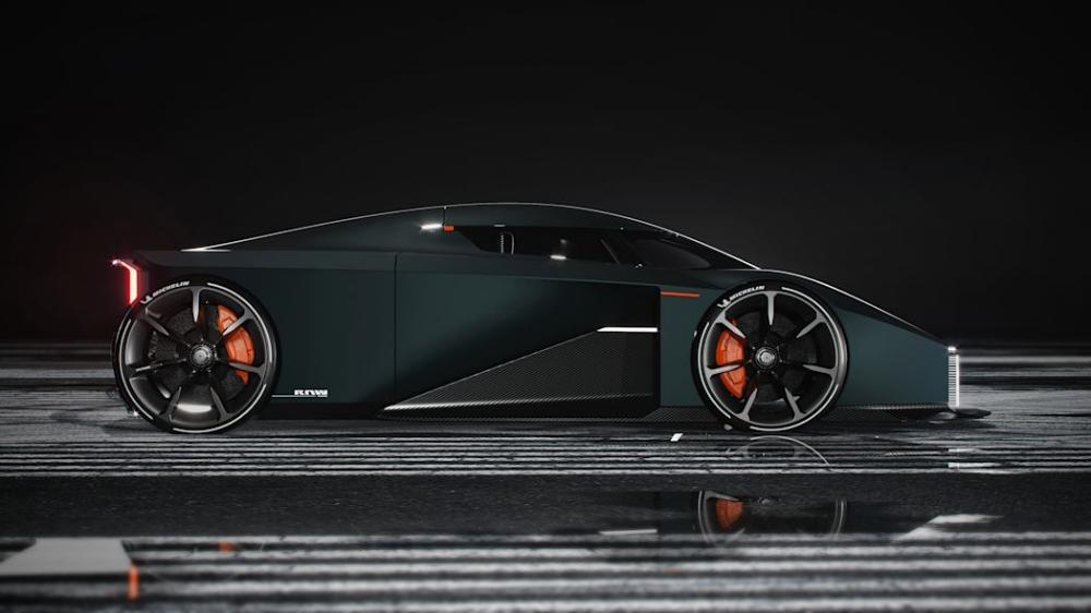 This wild Koenigsegg-endorsed rendering is a student's design thesis   Autoblog