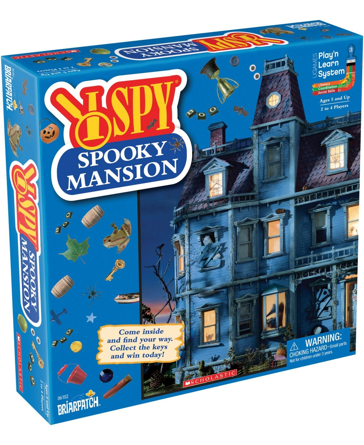 I Spy Spooky Mansion I spy, Puzzle games for kids