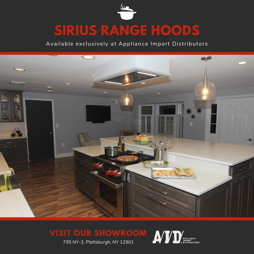 Sirius Rangehoods Can Fit Seamlessly Into Any Stylish Kitchen