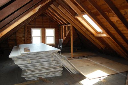 3rd Floor Attic Master Suite