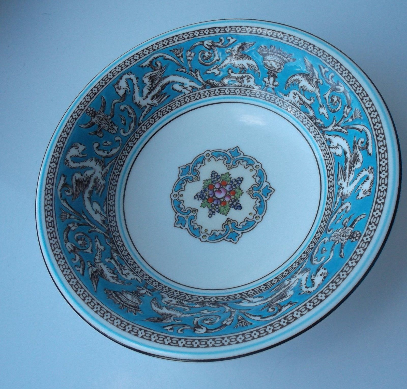 Wedgwood Turquoise Florentine 6  Fruit Saucer £12.99 or best offer / & Wedgwood Turquoise Florentine 6