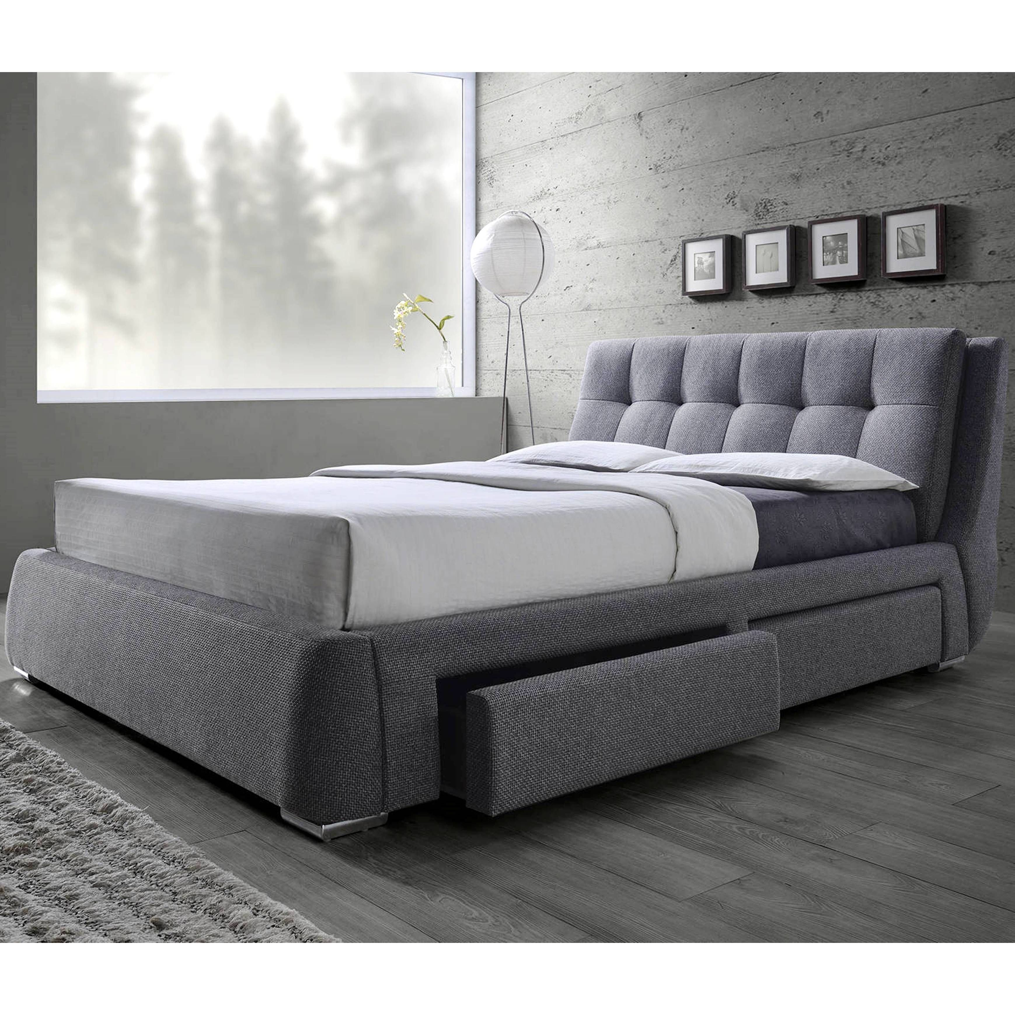 83afe367c906 Tufted Design Upholstered Storage Bed with Pillow Top Headboard (California King  Size Bed),