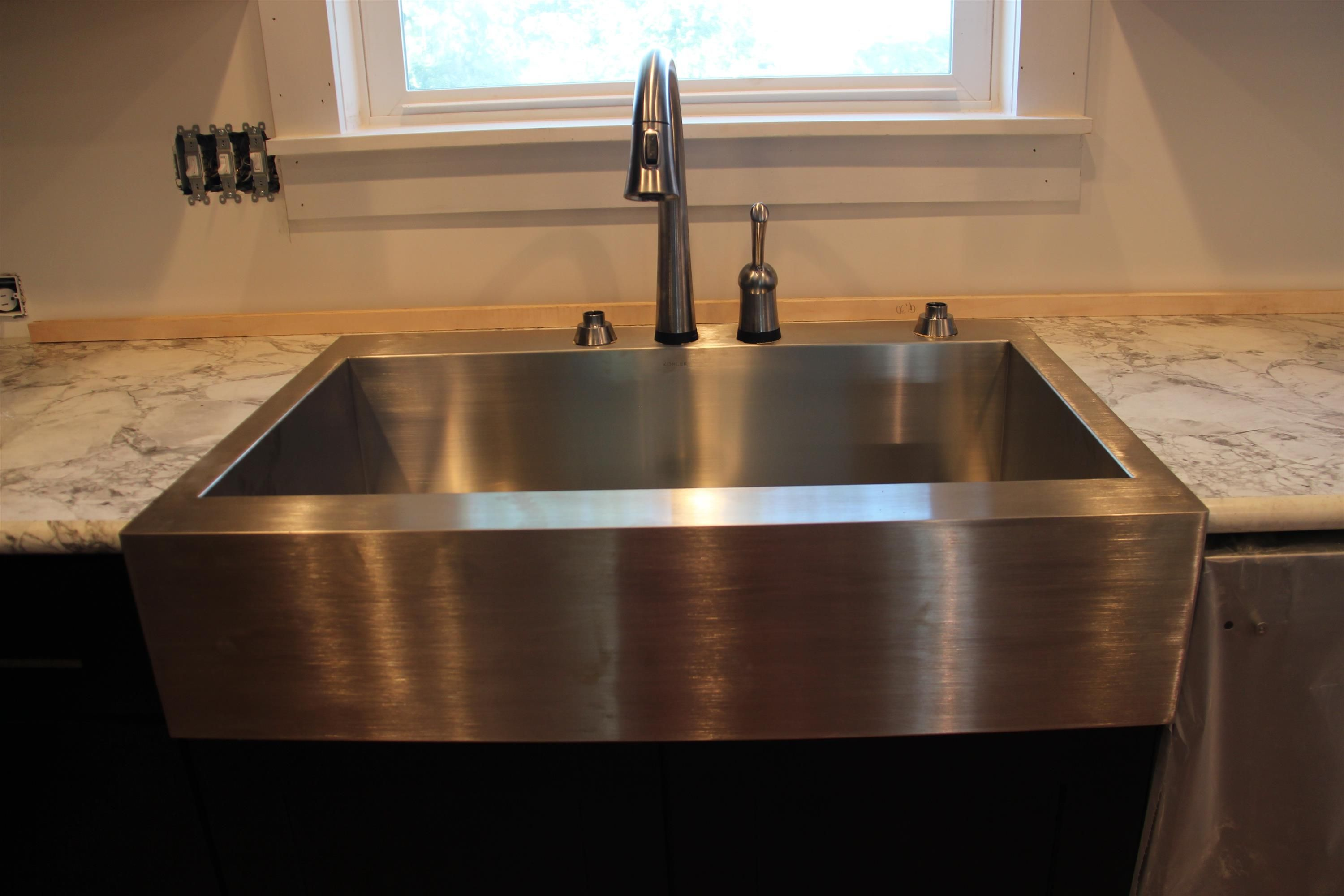 Kohler K 3942 4 Na Vault Top Mount Single Bowl Stainless Steel