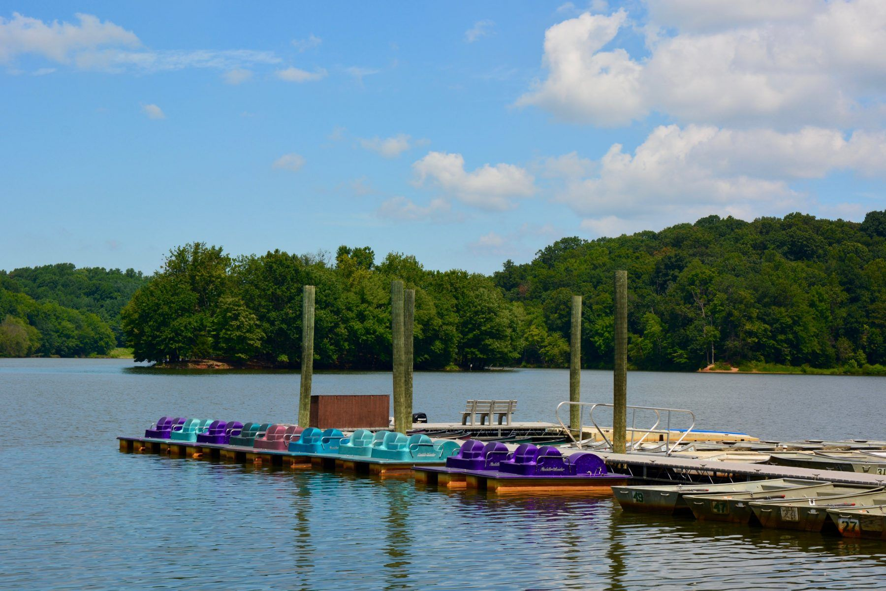 Boating and fishing boat row boat pedal boats