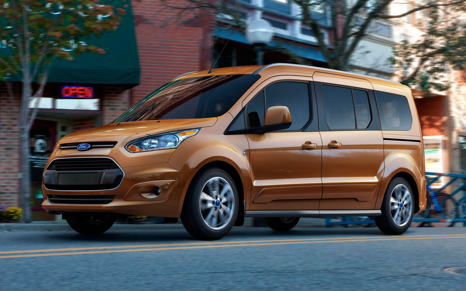 2014 ford transit connect ecoboost wagon gets 30 mpg minivan