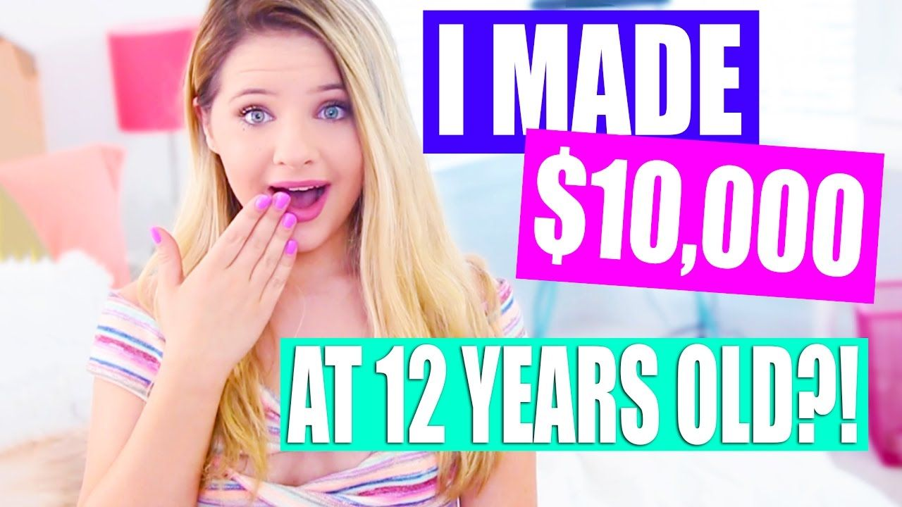 How i made thousands of dollars at 12 years old 12 year