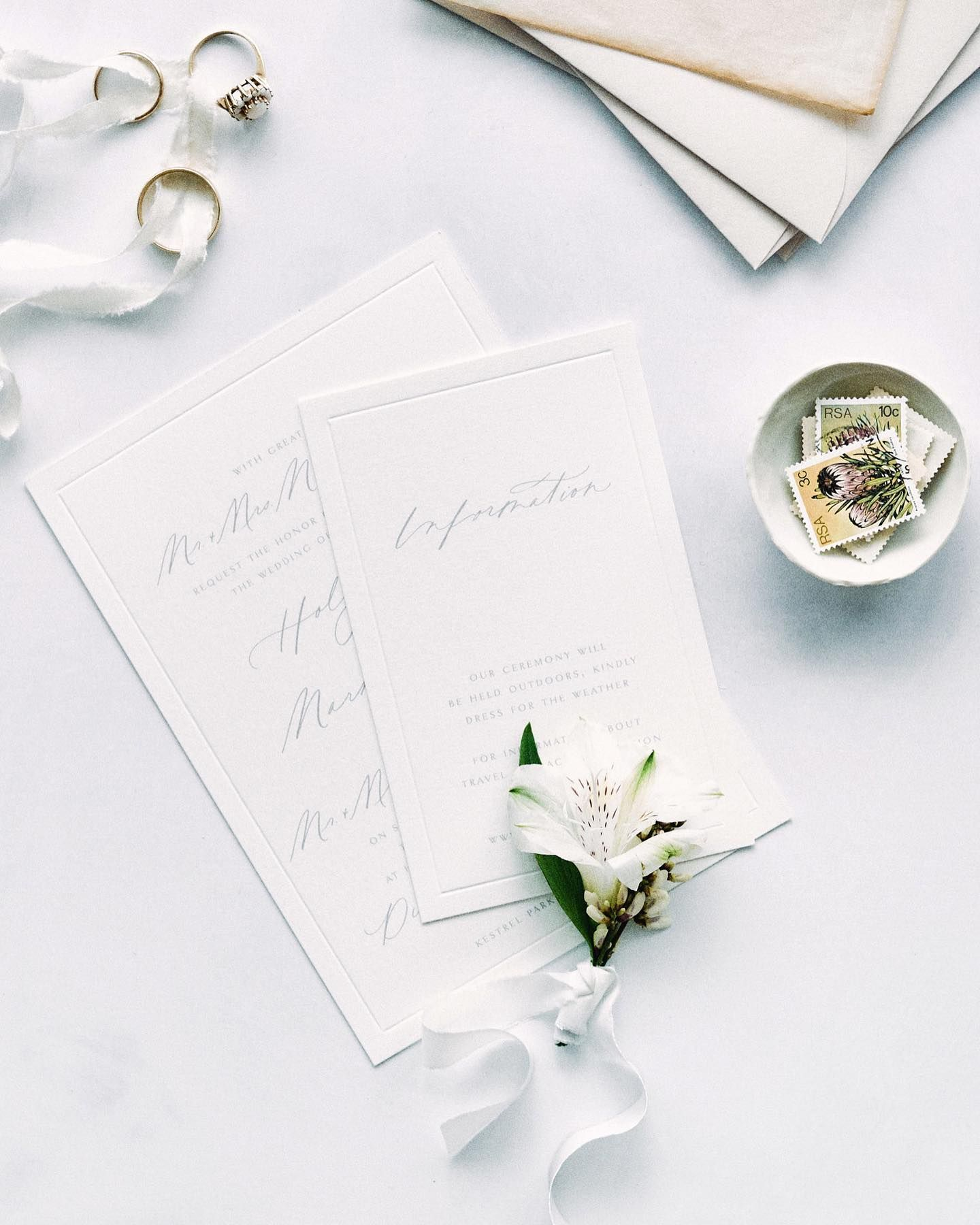 I love the subtle beauty of a blind embossed border, it's