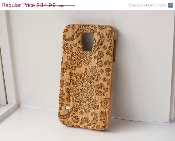 paisley pattern cell phone case