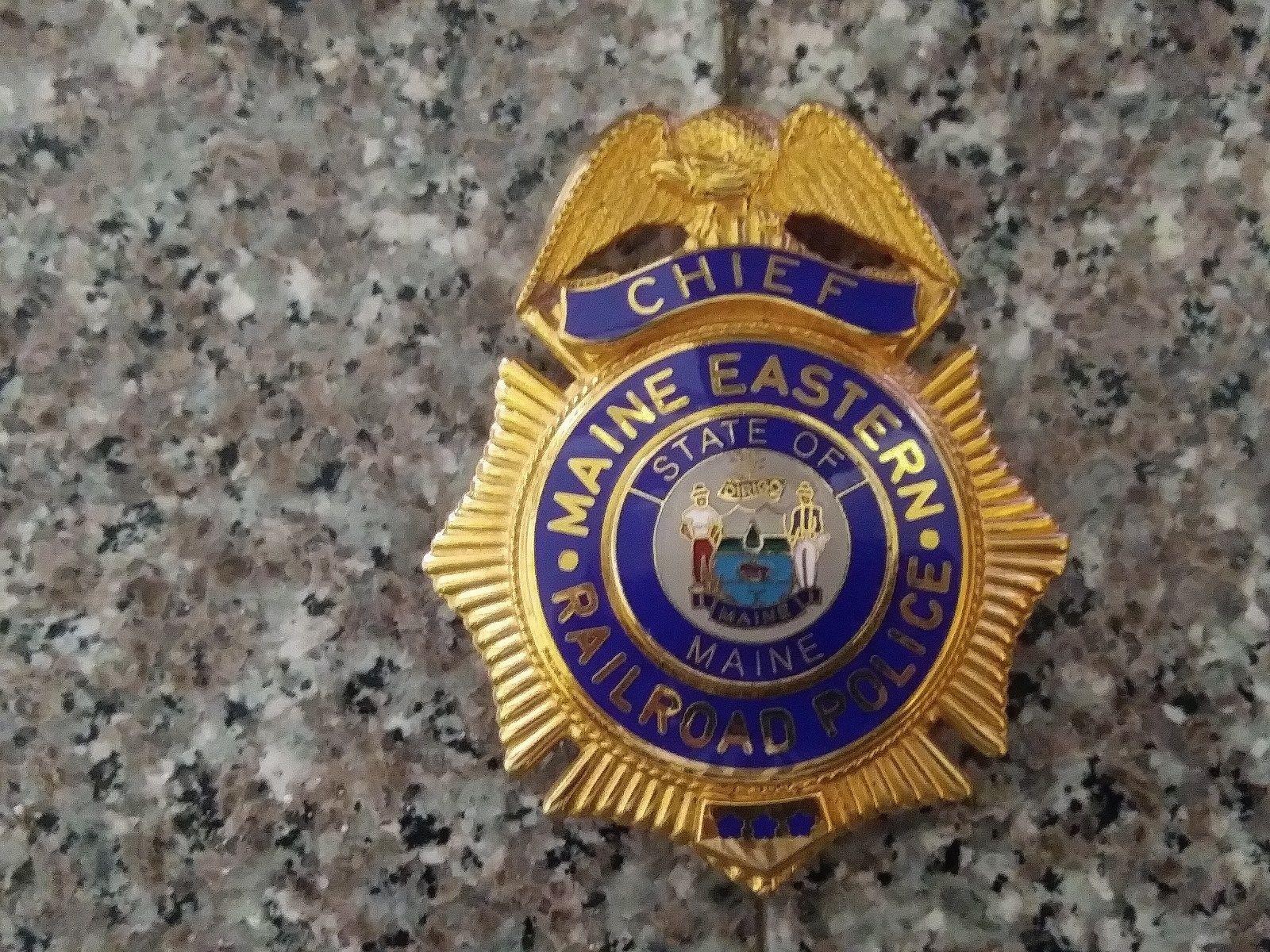 Chief maine eastern railroad police smith warren