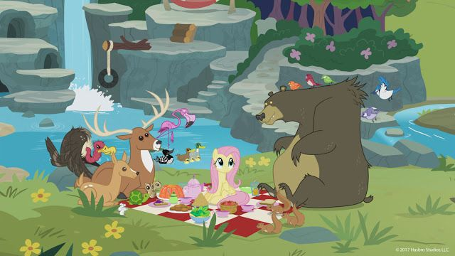 Picnic At Sweet Feather Sanctuary Mlp My Little Pony