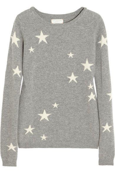 ce051d844e Chinti and Parker star intarsia cashmere sweater