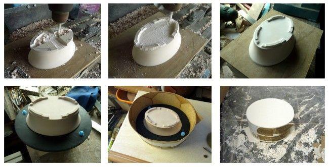 Proceso macetas artesanales