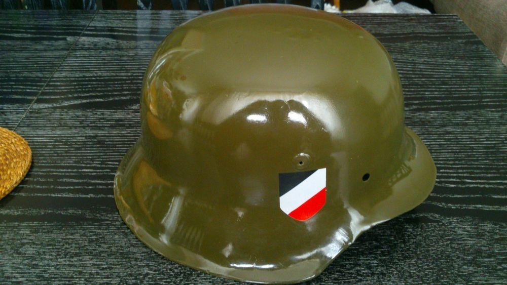 Relic WW2 ORIGINAL German ARMY M42 Stahlhelm Helmet  WWII East Front SHELL