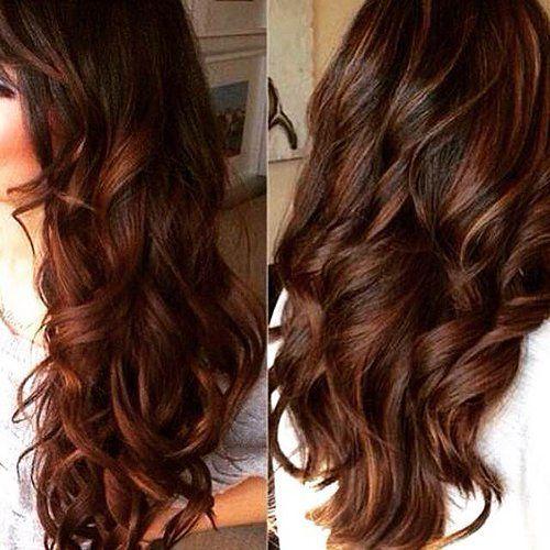 Chestnut Brown Hair With Dark Caramel Streaks Google