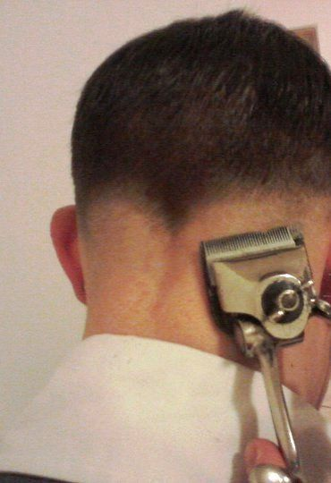 manual clipper haircut in progress | shaved | Pinterest ...