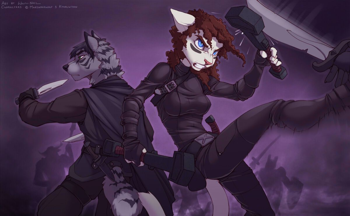 Clips Y Wolfy Nail Furry Porn - Fighting Partners to The End