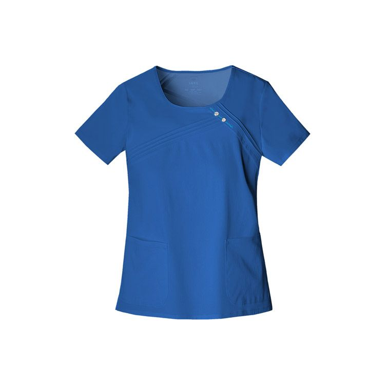 Cherokee Pro-Flexibles Women's Rayon Scoop Neck Solid Top | allheart.com