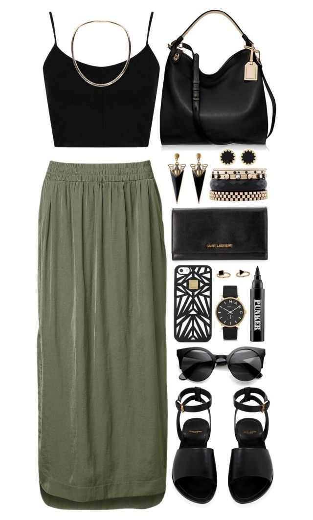 Untitled #301 by grapecar1015 on Polyvore featuring polyvore fashion style Topshop Witchery Yves Saint Laurent Reed Krakoff Iosselliani Marc by Marc Jacobs Maison Margiela House of Harlow 1960 Hervé Léger Ardency Inn women's clothing women's fashion women female woman misses juniors