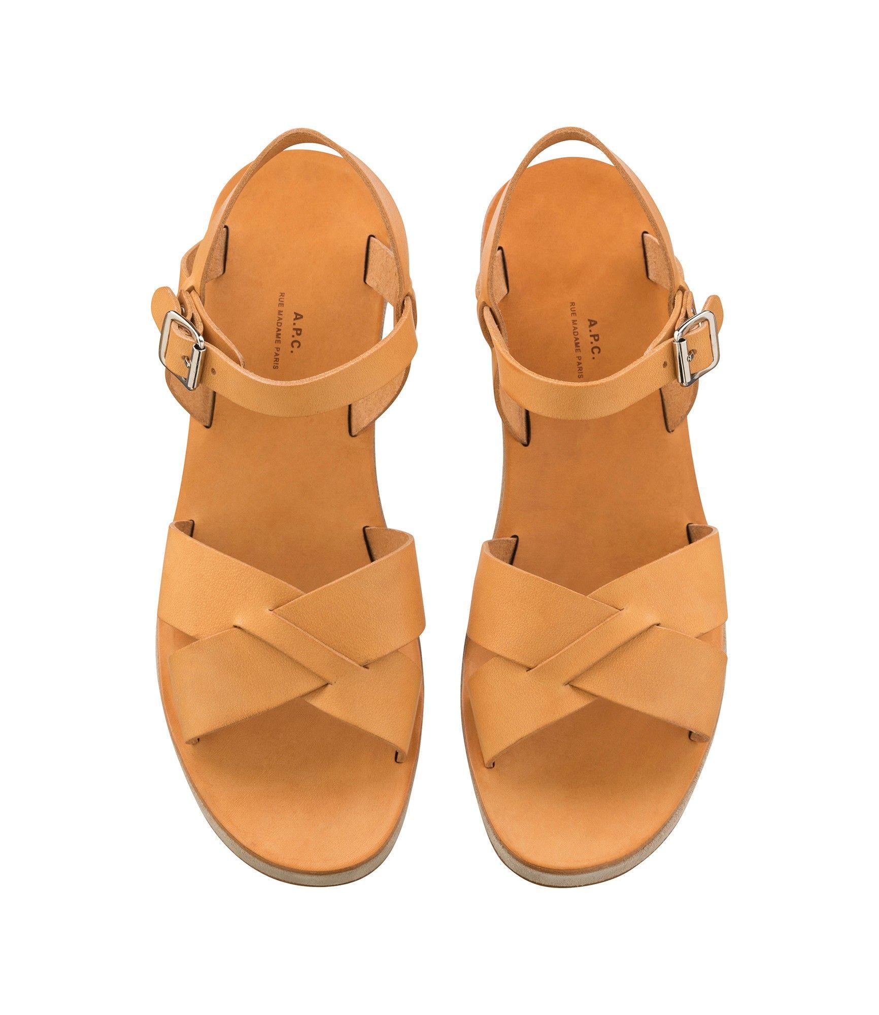 56df64ef99053 Sandales classiques compensées - Chaussures - Femme | Wishlist ...