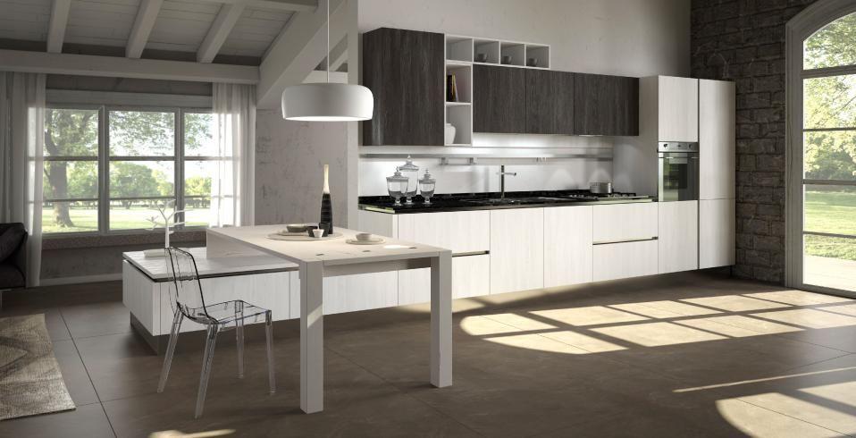 Fly #kitchen Record è Cucine #design #interiordesign #kitchendesign ...