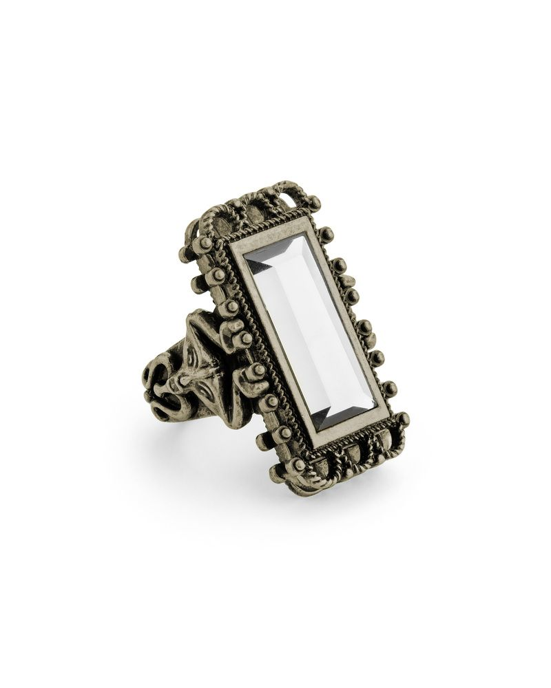 cool, vintage-look ring