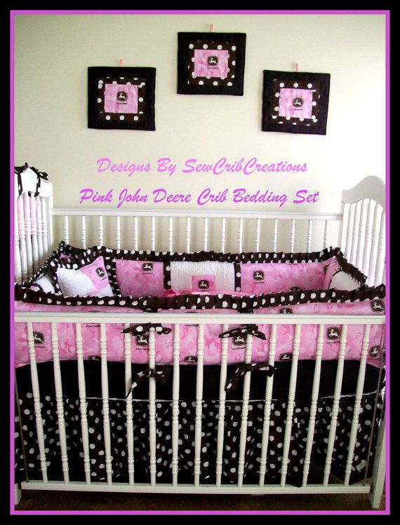 New Pink Camo Bedding for Babies