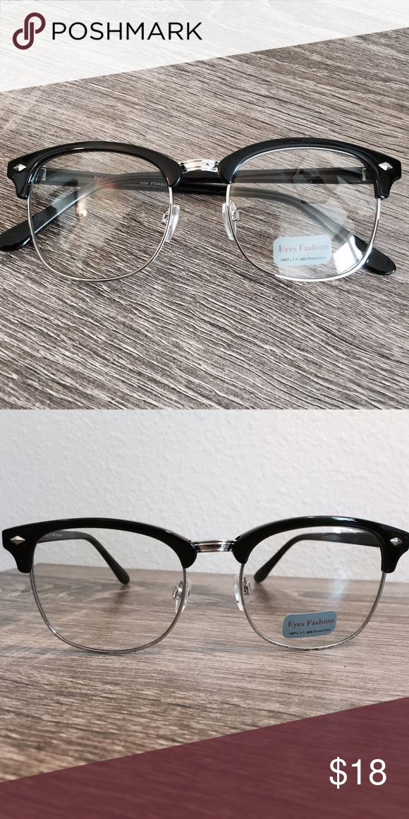 fbd58add235b Silver Retro Clear Glasses •Silver Retro Fashionable Glasses •Brand is NOT RAY  BAN •Vintage look •Price is FIRM •No Trades •Save 10% off with 3 Bundle ...