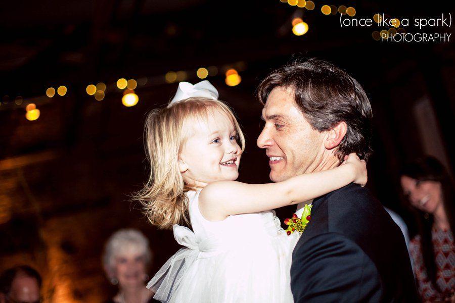 adorable, child, groom, dancing, wedding reception, wedding photography :: Betsy + Andy's Wedding at King Plow Arts Center in Atlanta, GA :: with Chad + Tina