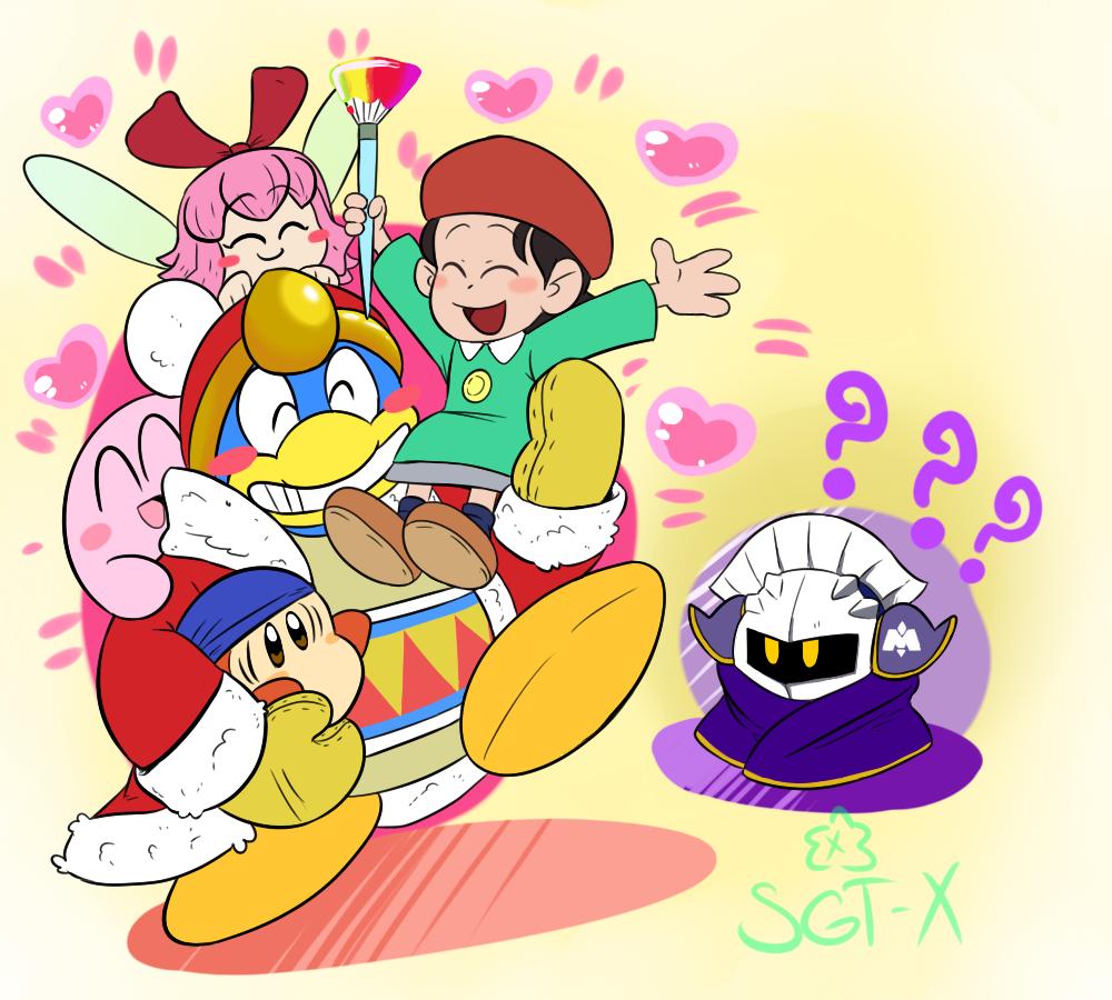 back by SGTX on DeviantArt Kirby memes, Kirby