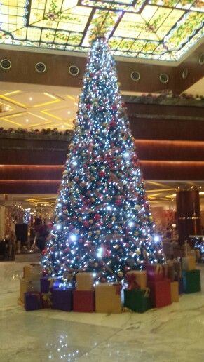 Christmas In Cancun.Christmas In The Sunrise Lobby At Moon Palace Cancun Mexico