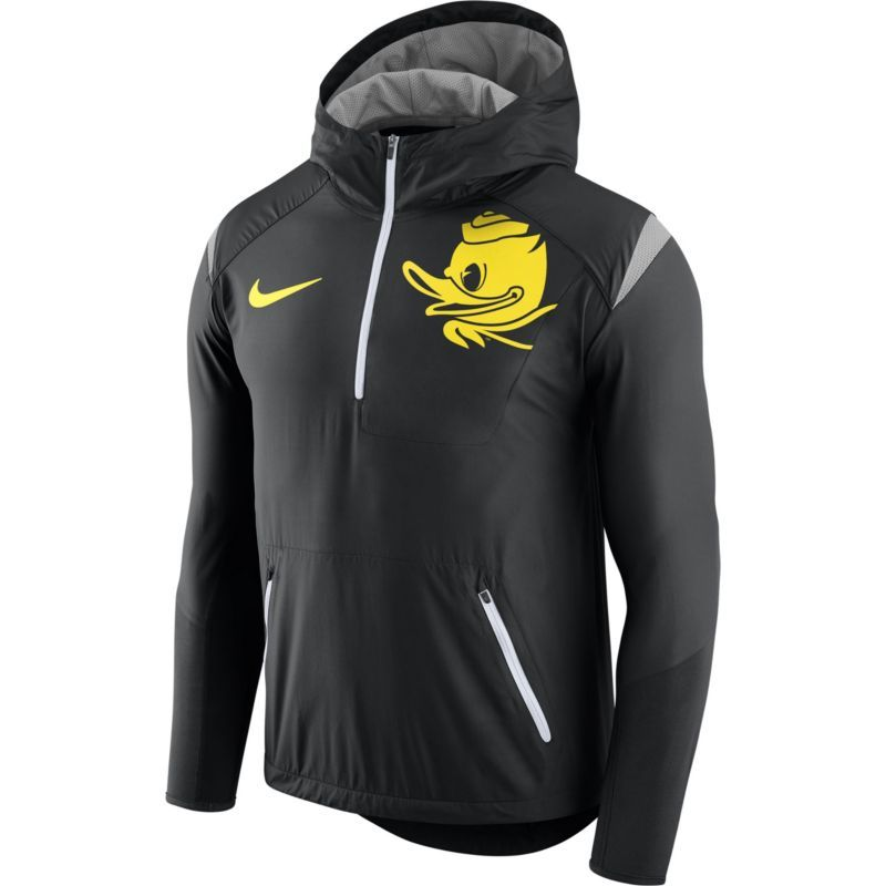 finest selection 39d20 aeadc Nike Men s Oregon Ducks Black Fly Rush Football Jacket, Size  Large, Team