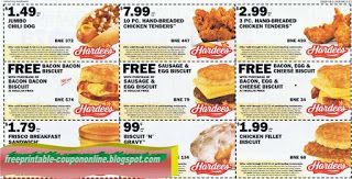 image regarding Hardee's Printable Coupons identified as Totally free Printable Hardees Coupon codes Printable Discount coupons June 2017