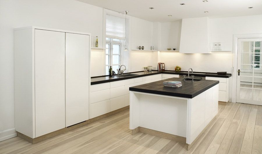 Inspirational High Gloss White Kitchen Cabinets