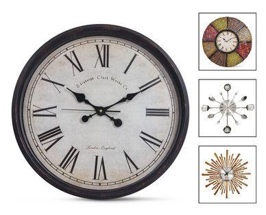 Aldi Us Huntington Home Wall Clock Wall Clock Clock Huntington Homes