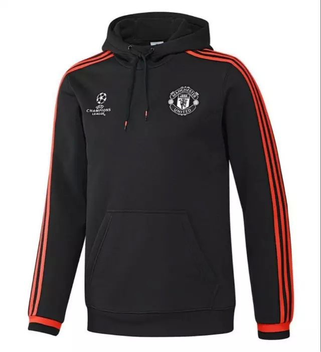 huge selection of 707f4 54c27 Manchester Untied Black Soccer Hoodie   Soccer Sweater ...