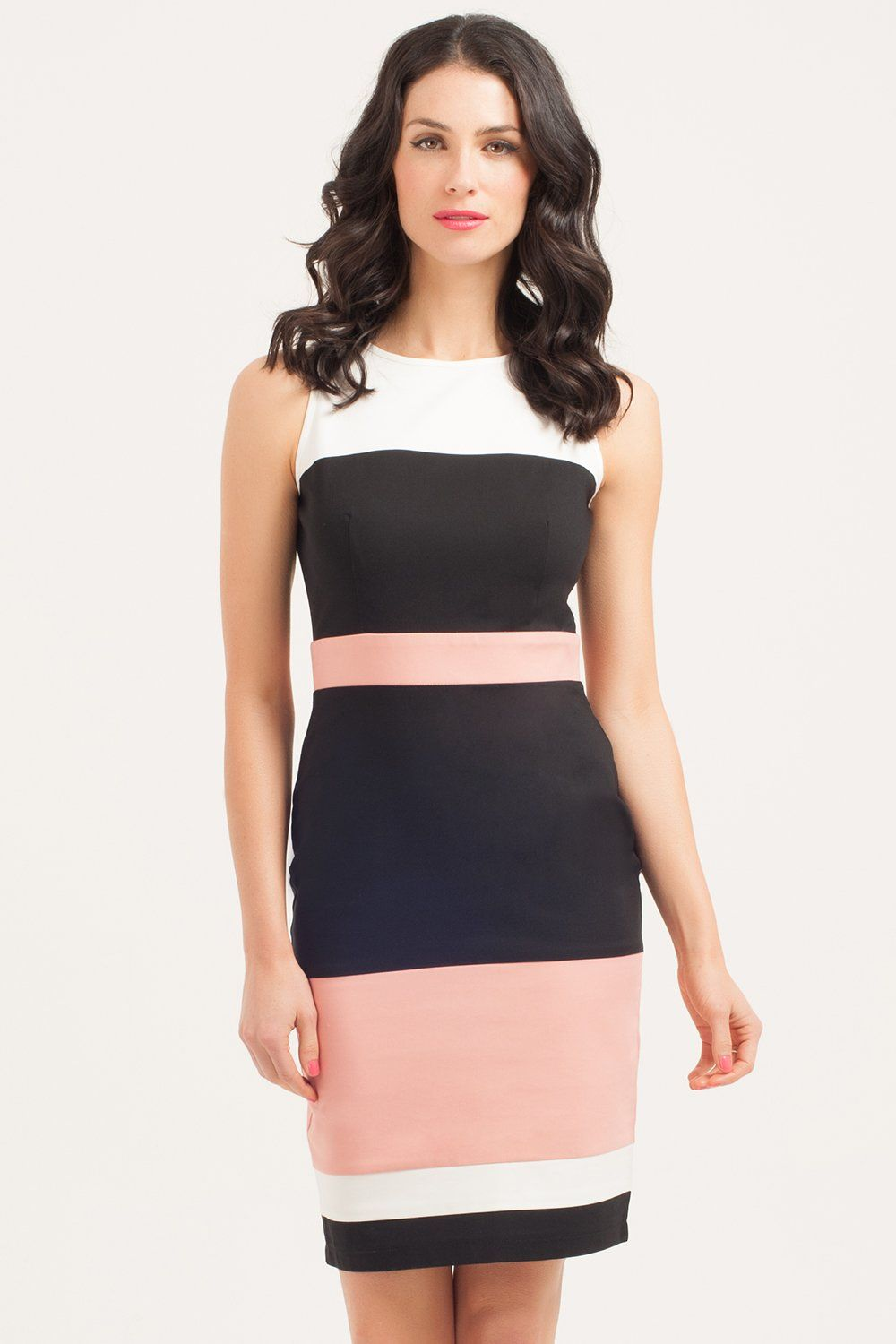 Color block dresses summer
