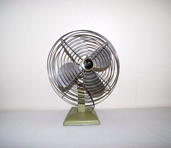 Industrial Fan by CheekyVintageCloset on Etsy, $74.00