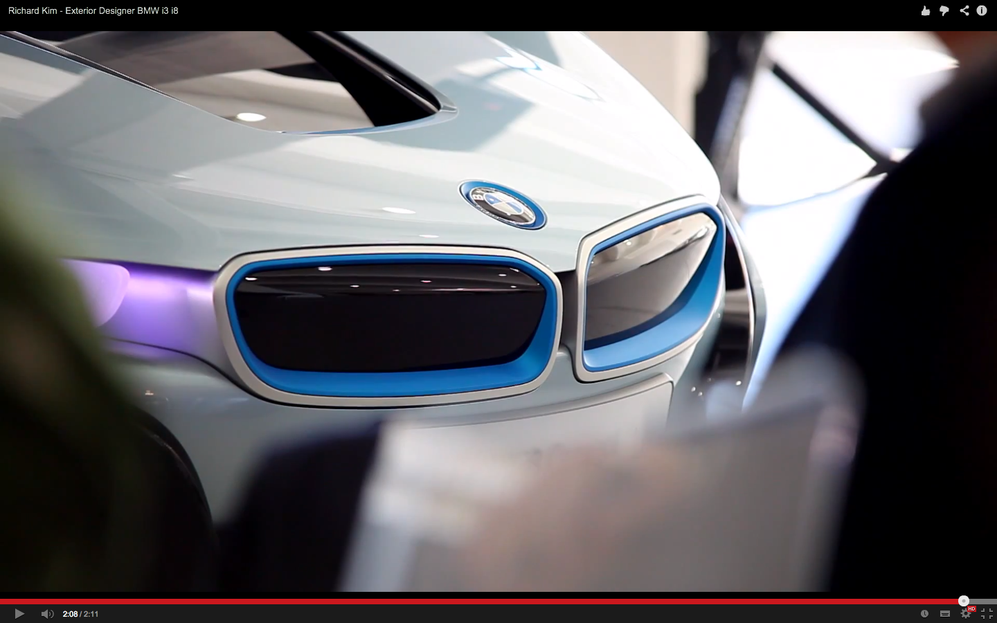 Bmw I8 Front Grill Layering Design Front Grill Layers Design