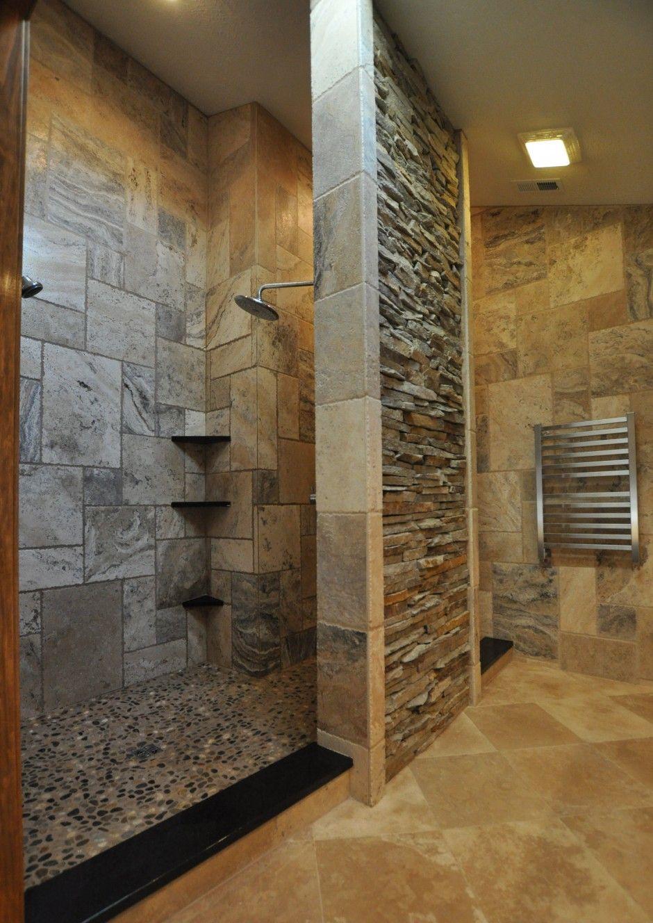 Walk In Shower No Door Modern
