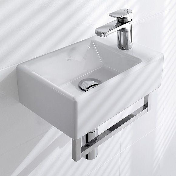Villeroy Boch Memento Handwaschbecken Weiss Mit Ceramicplus Handwaschbecken Handwaschbecken Gaste Wc Waschbecken