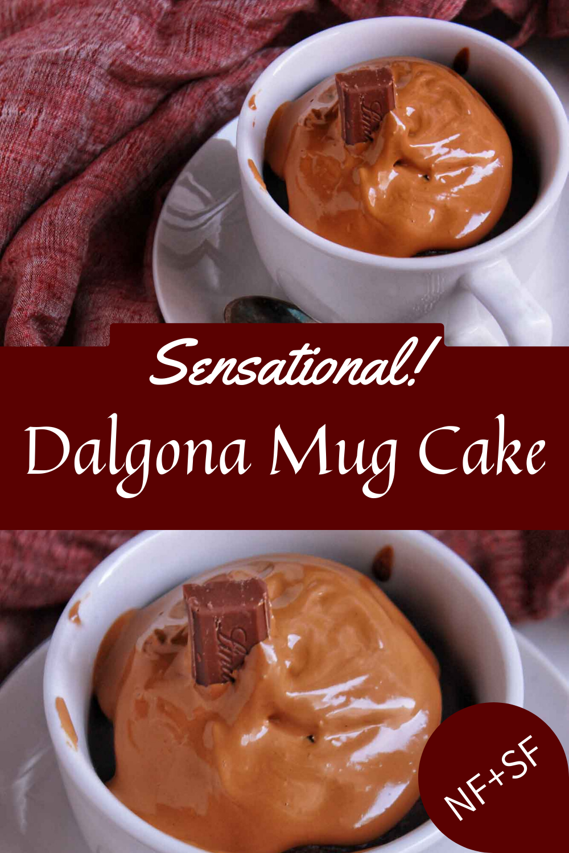 Dalgona Mug Cake in 2020 Mug cake, Coffee recipes