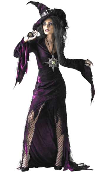 Witch Fancy Dress Costume Witch fancy dress, Sorceress